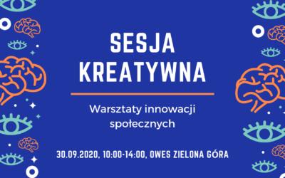 Warsztaty innowacji społecznych – sesja kreatywna