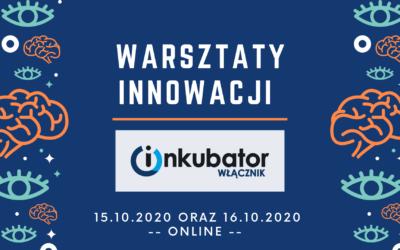 Warsztaty online z Włącznikiem Innowacji Społecznych