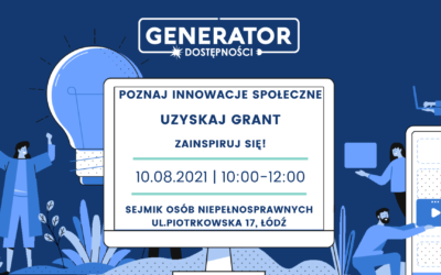 Spotkanie z innowacjami społecznymi w Łodzi
