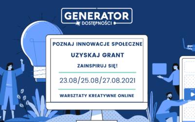 Warsztaty kreatywne z Generatorem Dostępności